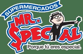 Mr. Special logo.