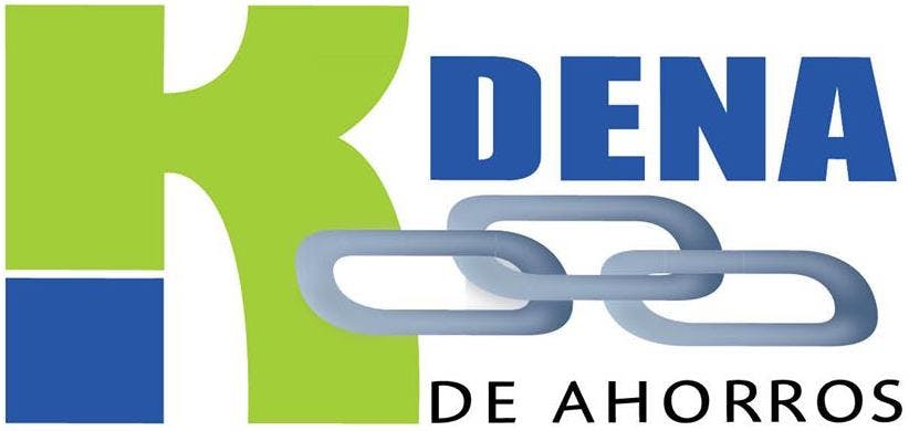 Kdena de Ahorros logo.