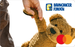 Barncancerfonden Nallekortet