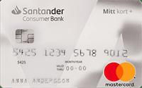 Santander Mitt Kort+