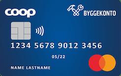 Coop Byggekonto Mastercard