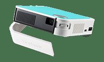 Viewsonic-M1MINIPLUS-854 x 480 120 Lumen Ultra-portable Pocket LED Smart Projector w 1080p