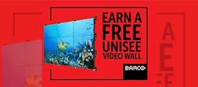 Want a FREE UniSee video wall for your own office?