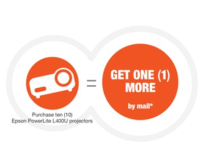 Epson: Buy 10, Get 1 more!