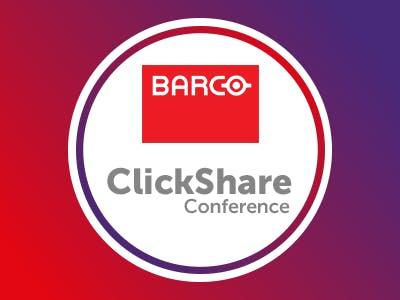 ClickShare Conference $100 Customer Rebate