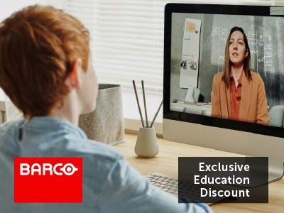 Barco Exclusive Education Discount