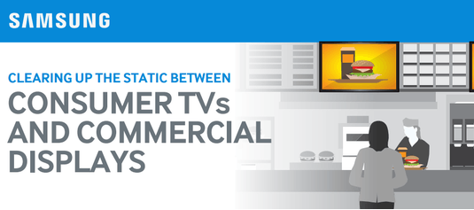 The Big Difference Between Consumer and Commercial Displays