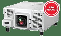 Epson-V11H832920 Pro L12000QNL, Native 4K, 12000 Lumens, Laser, 3LCD, No Lens, White
