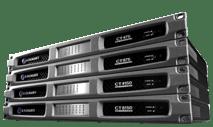 Crown - CT4150 4-Channel Rackmount Power Amplifier (150W/Channel @ 8 Ohms)