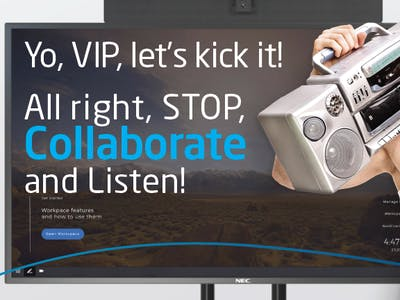 Collaboration Board Sales Earn you Additoinal SPIFs from NEC