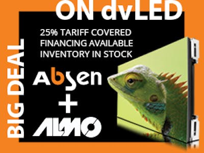 Absen: In Stock and a Big Deal!