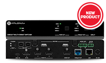 Atlona-AT-OME-MS52W - Omega 5x2 4K/UHD multiformat matrix switcher, with wireless casting, HDM
