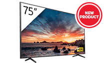 """Sony-FWD75X800H - 75"""" 4K HDR LED Professional Display with Tuner"""