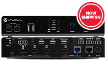 Atlona-AT-OME-MS52W Omega 5x2 4K/UHD multiformat matrix switcher, with wireless casting, HDM