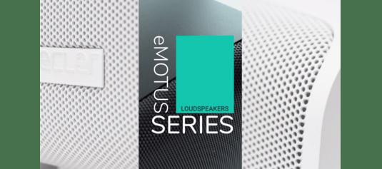 eMOTUS Series - Loudspeakers from Ecler