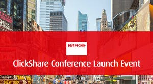 <strong>Join Barco on Jan 27th  for the launch of ClickShare Conference</strong>