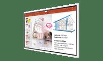 """Samsung-WM65R - 65""""3840x2160 Flip all in one digital flipchart display"""