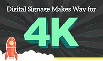 Digital Signage Makes Way for 4K