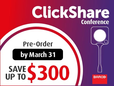 Barco ClickShare Conference Promo - NEW PRODUCT!