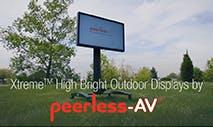 Video: Peerless-AV® Xtreme™ High Bright Outdoor Displays