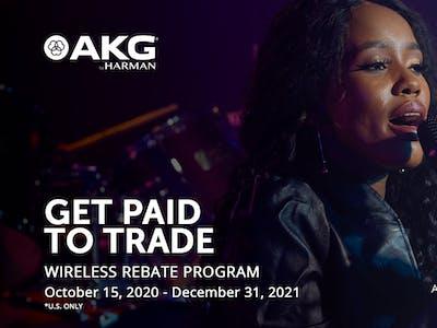 AKG: Get Paid to Trade - Wireless Rebate Program