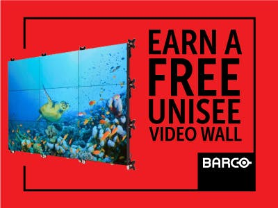 Barco - Want a FREE UniSee video wall for your own office?