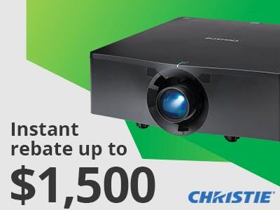 Christie HS Series Promotion