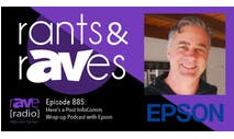 Rants & rAVes Podcast Image