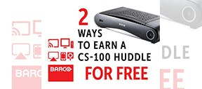 Two ways to earn a CS-100 Huddle