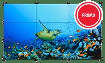 Barco-R98495000B - UNI-5000 UniSee 500 nit w/ power supply video module & mount