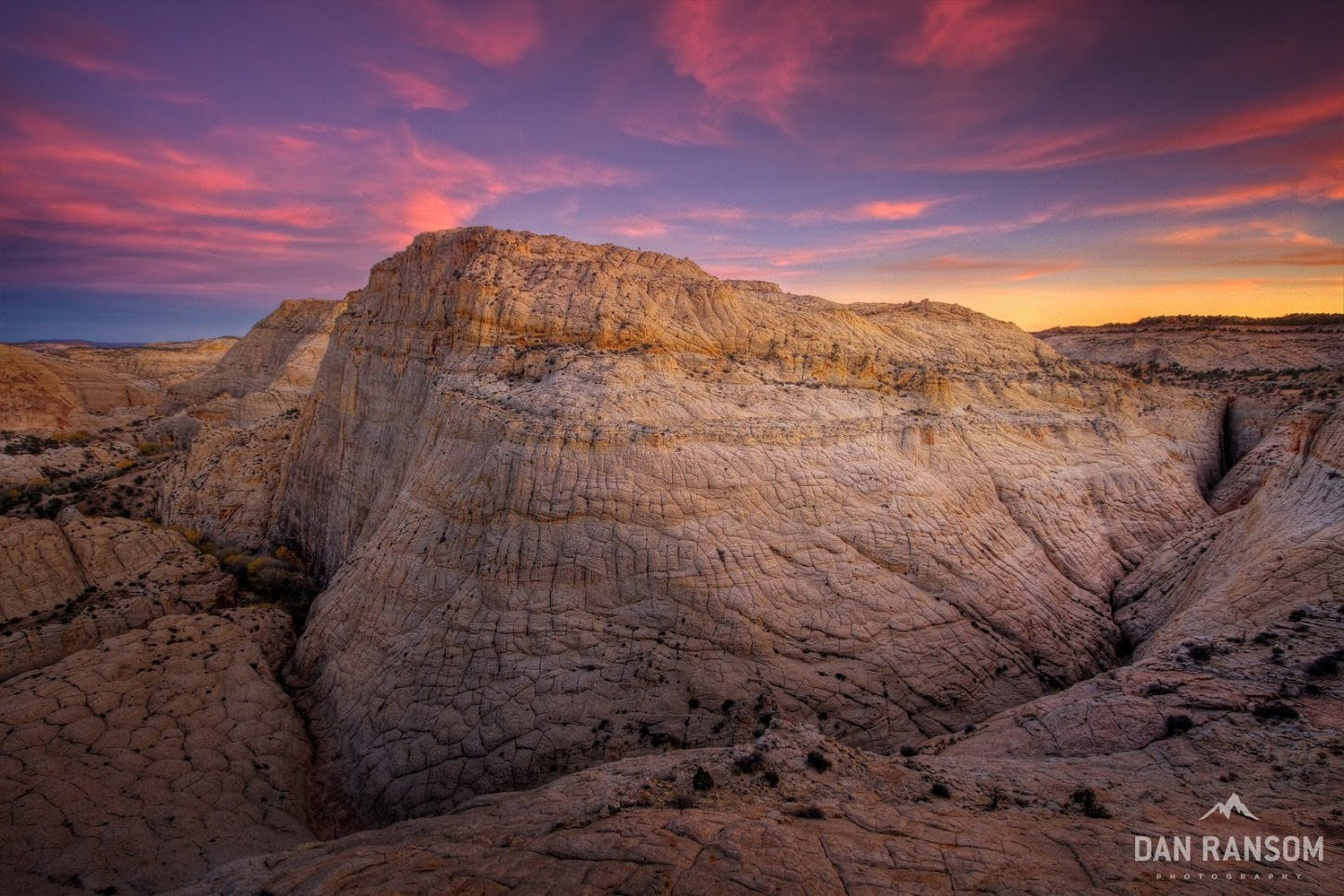 Sunset over Grand Staircase-Escalante National Monument.