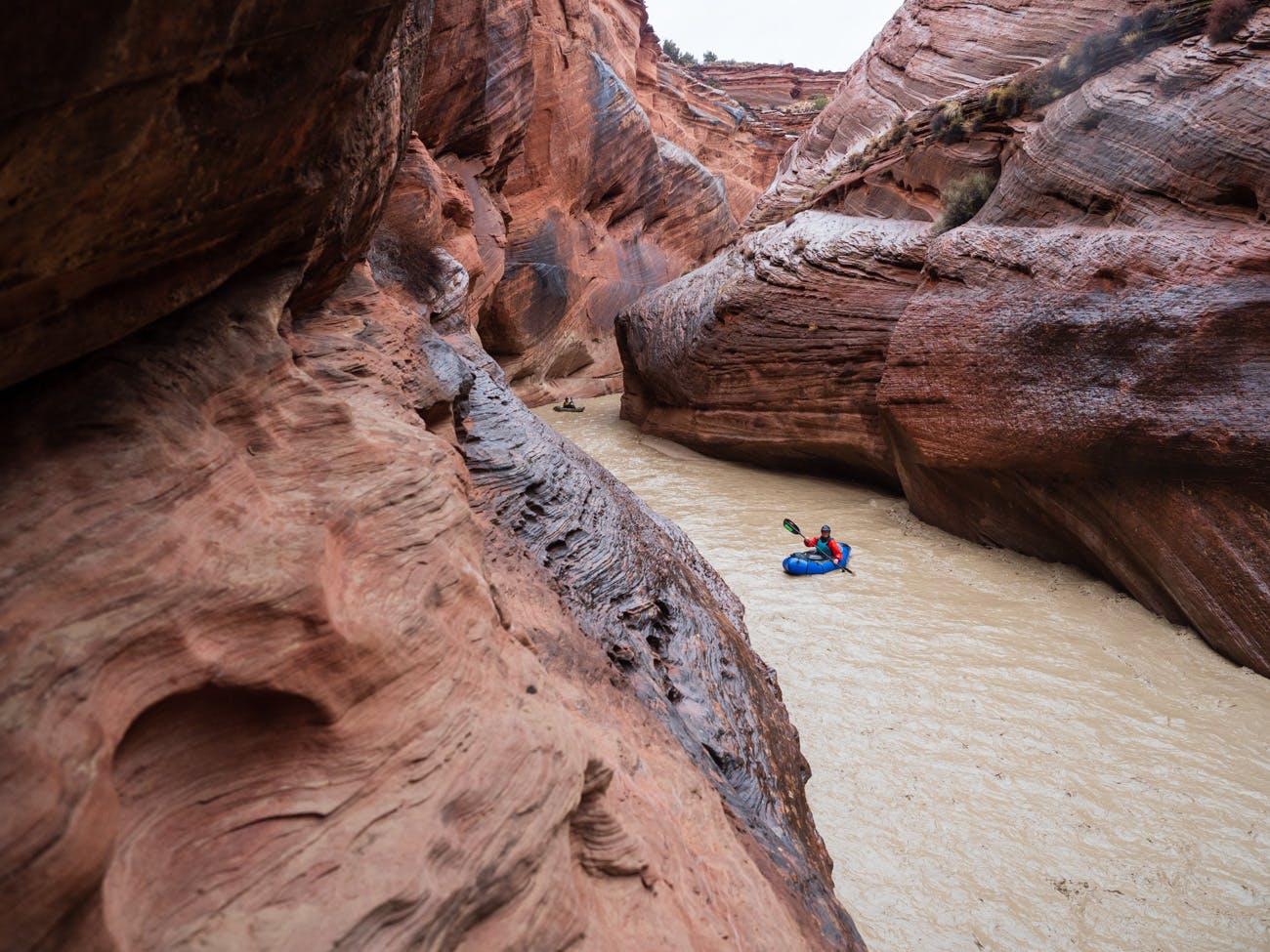 Jesse Selwyn, Desert packrafting