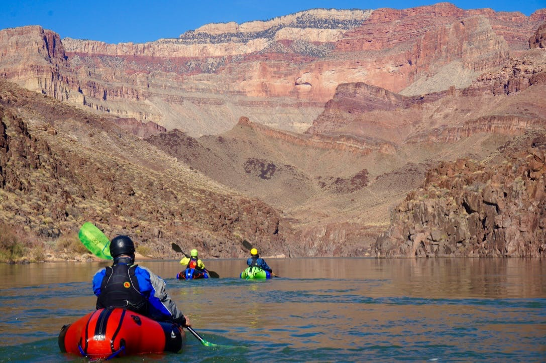 self-supported Grand Canyon adventure, by Casey Fulton.