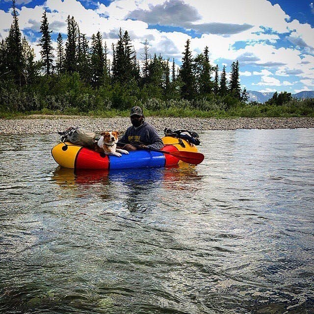 """""""Floating down the St Mary River in Babb, Montana. Photo by @BellKat."""""""