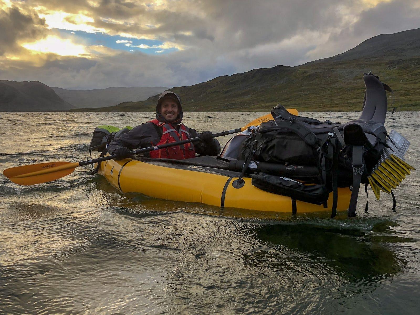 Exploring Norway'sKäsivarsi Wilderness by Packraft