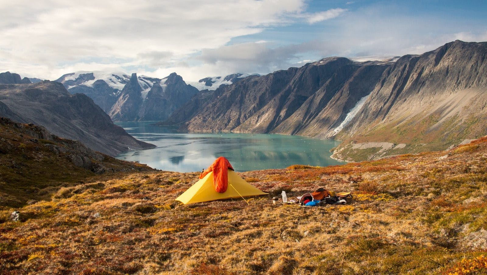 Splendid viby spot during a 5-week solo adventure in West-Greenland.
