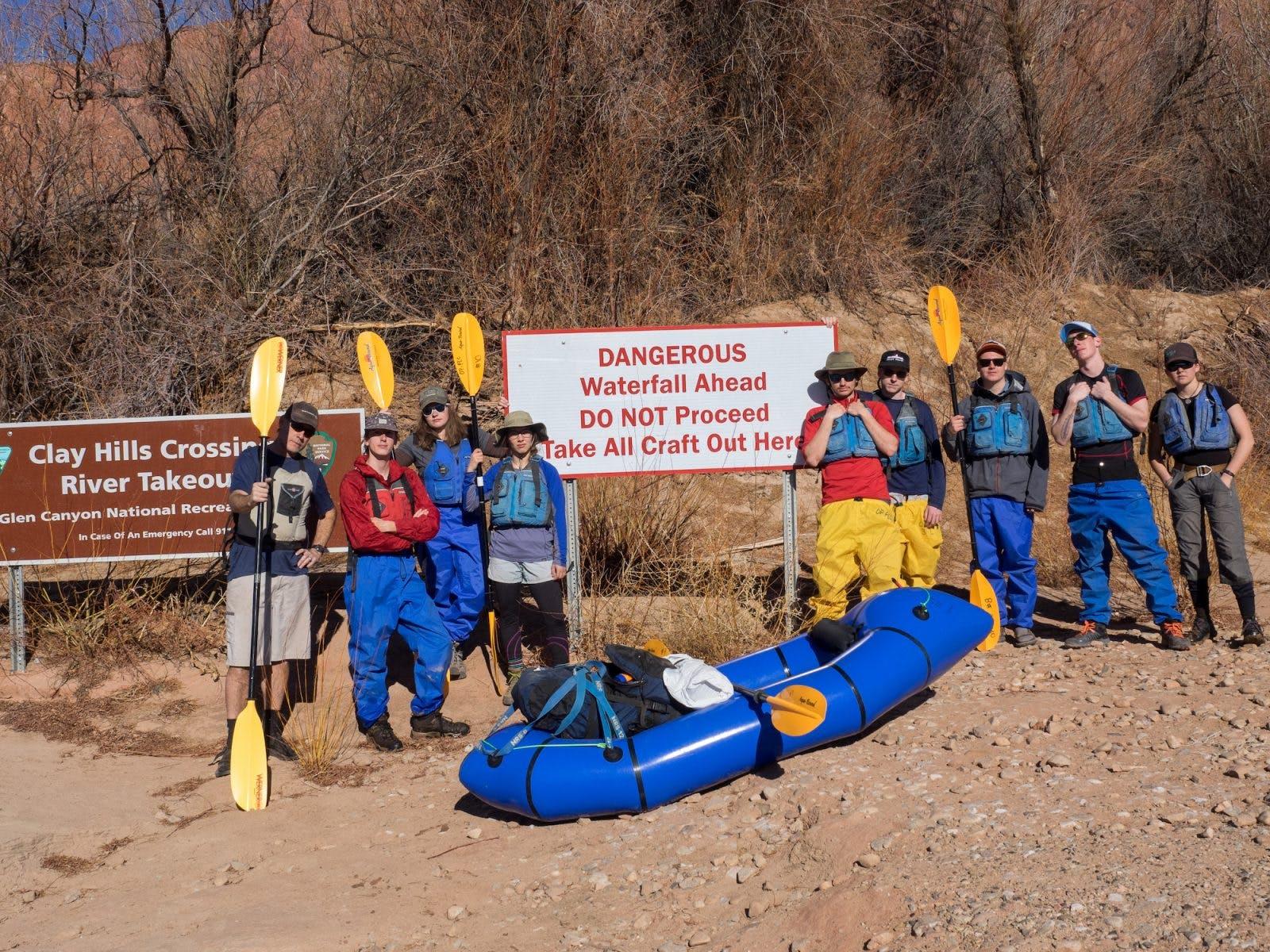 The Adventure Crew for yet another OP Spring Break.