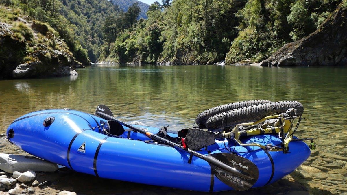 Fluid Trails - Kahurangi Bikerafting Epic, The Film
