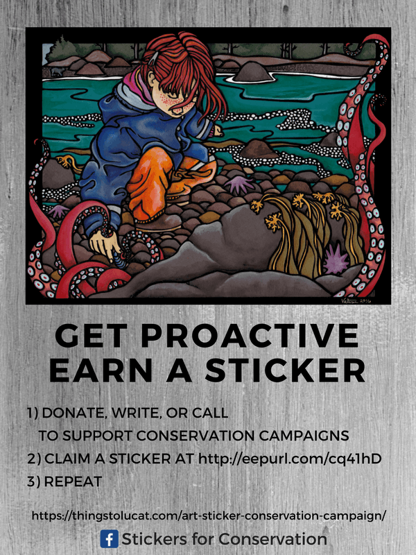 Stickers for Conservation