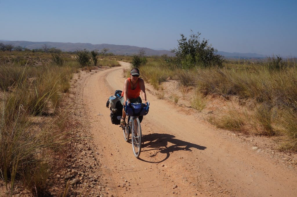 Sometimes you have to sandbag your friends that their 1970's touring bike is the perfect bike for Madagascar.