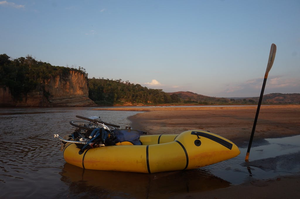 The sunrise on our last morning of the river. The only thing that stood between us and cold beer was 65km of flatwater, a headwind, 100 degree temperatures and the constant thought of crocodiles.