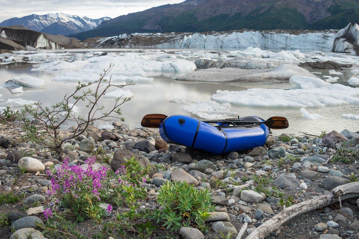 Packrafting Wrangell-Ellias NP. Nothing better.