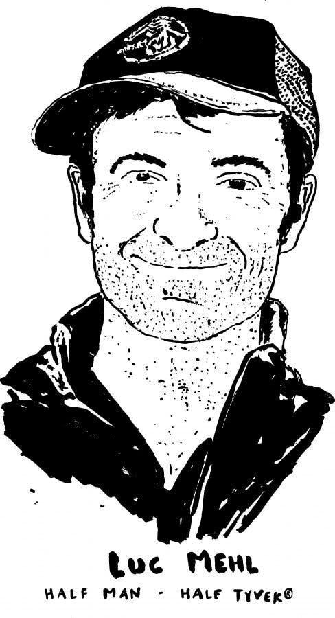Luc Mehl. Illustration by Jeremie Lamart.