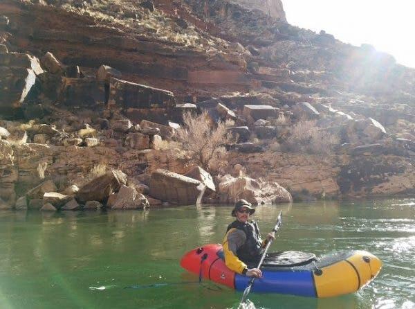 David Hertel on the Grand Canyon.