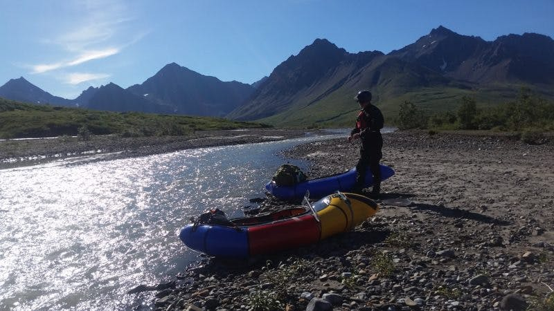 Packrafting Safety: Rig to flip, Dress to Swim, Setting up for Success