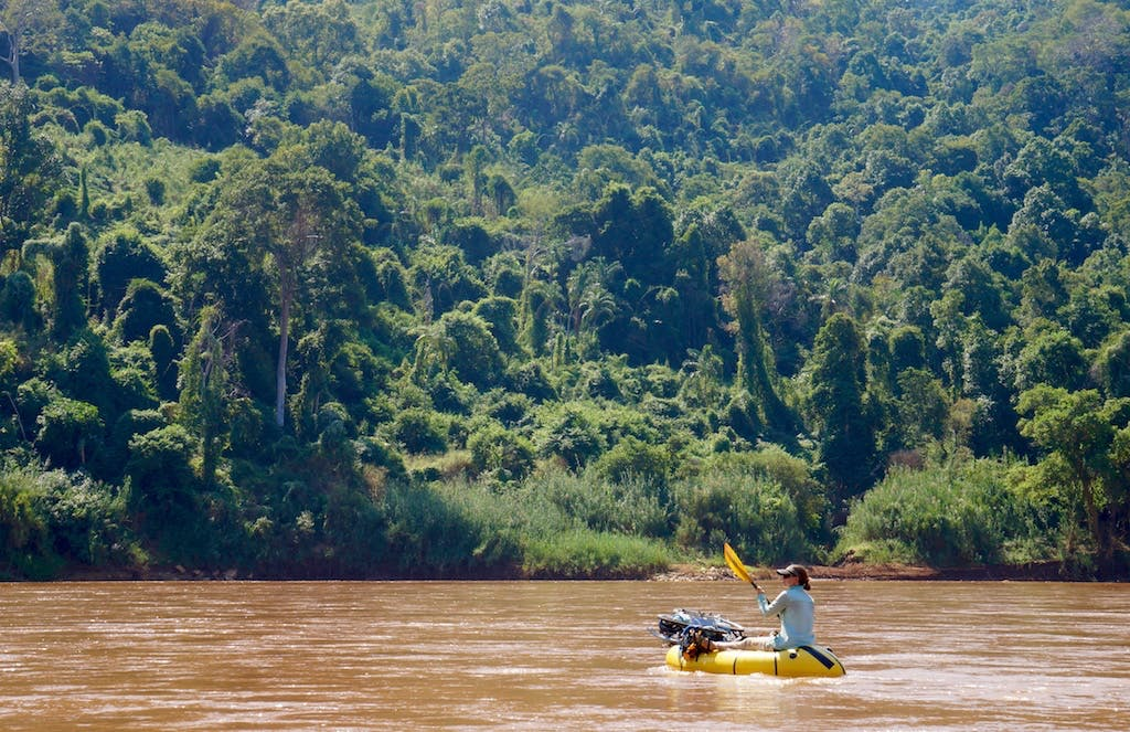 The farther we floated downstream the closer we got to unspoiled Madagascar. The combination of rough terrain and remoteness left this section of forest relatively untouched.