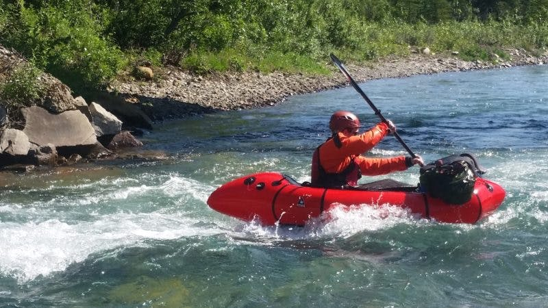 Packrafting Safety, Monica Morin