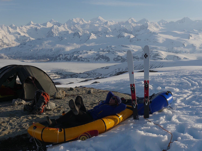 In the Fairweather Range, Alaska/BC.