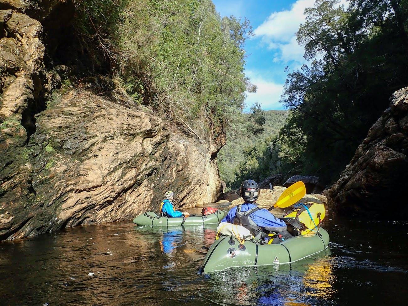 Packrafting Tasmania