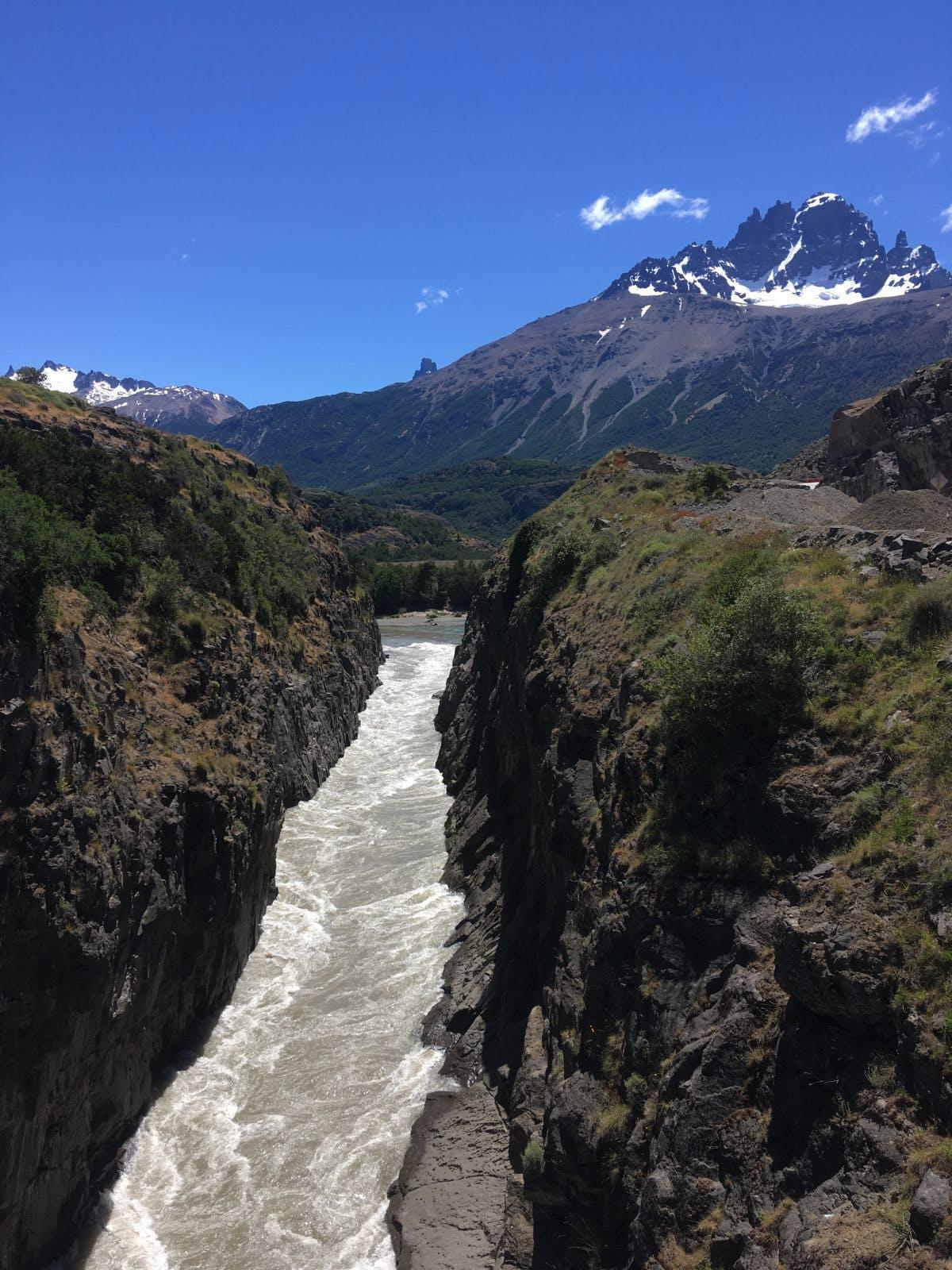 Ashley Perry Packrafting Patagonia